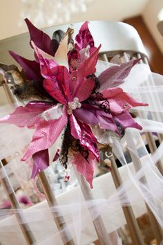 Create paper flowers and then shape them with water to make them more life like