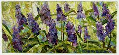 Grape Hyacinths by Margo Fiddes. Stunning work.