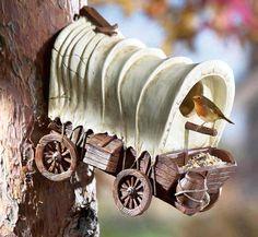 stagecoach birdhouse