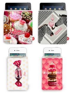 Great tablet and telephone covers from Bonjour Mon Coussin! Available at www.parisparadis.nl