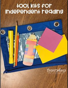 Using Tool Kits for Independent Reading #kindergarten #firstgrade #secondgrade #thirdgrade #fourthgrade #fifthgrade #conversationsinliteracy #classroom #elementary #anchorchart #comprehension kindergarten, 1st grade, 2nd grade, 3rd grade, 4th grade, 5th grade