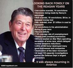 "It drives me crazy when I hear people say that Reagan was one of our best Presidents."" Reagan was personable but he was NOT a great President. Jimmy Carter, Troll, Religion, Ronald Reagan, Republican Party, Republican Values, Gop Party, Conservative Republican, Liberal Politics"