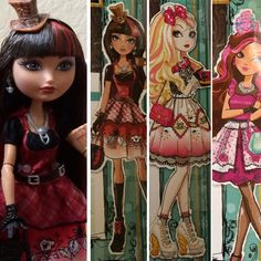 New Ever After High Doll line!!! A Wonderlandiful Hat- Tastic Party!!