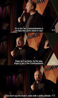 Louis CK on 10 Commandments