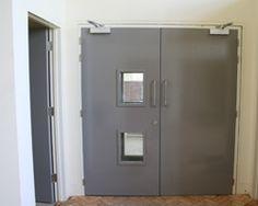 Doors to performance area