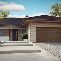 Bungalow House Plans, Bedroom House Plans, New House Plans, House Plan With Loft, Model House Plan, Minimalist House Design, Small House Design, House Layout Plans, House Layouts