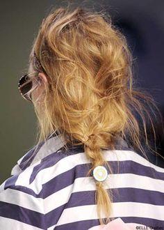Comment reproduire les #tendances #coiffure du printemps-été 2013?