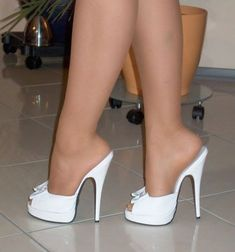 Peep toe shoes & pumps up to UK size Sexy Legs And Heels, Platform High Heels, Black High Heels, High Heel Boots, Pantyhose Heels, Stockings Heels, Bedroom Heels, Talons Sexy, Black Stiletto Heels