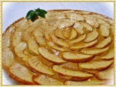 Receta de Tarta de manzana y queso