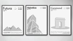 Fusing architecture, history, and typography, Nilsson's prints use typefaces--and nothing but--to bring well-known international landmarks to life, while paying tribute to legendary fonts and the type designers who created them