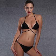 $24.99 (Buy here: https://alitems.com/g/1e8d114494ebda23ff8b16525dc3e8/?i=5&ulp=https%3A%2F%2Fwww.aliexpress.com%2Fitem%2F2016-NO-5%2F32640373604.html ) 2016 halter mesh women sexy neoprene bikini set and bikinis push up for women bikini mujer vs bikini New victoria swimwear for just $24.99