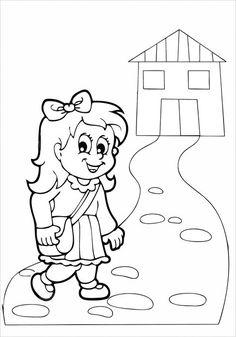 Idee e proposte didattiche per lo sviluppo e l'apprendimento. Risorse per insegnanti, educatori, genitori e Bambini Kindergarten First Day, Kindergarten Science, Montessori Education, School Worksheets, Flower Template, Coloring Pages, Arts And Crafts, Doodles, Sketches