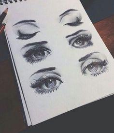 Etkileyici gözler