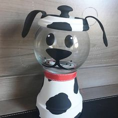 Dog Candy or Treat Dish Clay Pot Projects, Clay Pot Crafts, Jar Crafts, Kids Crafts, Clay Flower Pots, Terracotta Flower Pots, Clay Pots, Milk Bottle Centerpiece, Jar Centerpieces