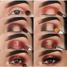 Tutorial Augen Make-up - Prom Makeup Black Girl Eye Makeup Tips, Makeup Goals, Makeup Hacks, Skin Makeup, Makeup Inspo, Eyeshadow Makeup, Makeup Inspiration, Makeup Ideas, Makeup Products