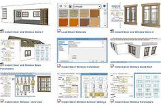 Instant Door & Window extension for sketchup