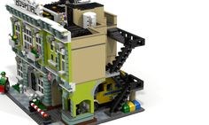 My LEGO® constructions If you like this model please vote and share it through your friends and social network, your support makes me want to start a new challenge and impro. Lego Hospital, Memorial Hospital, Lego Building, Building Ideas, Building Drawing, Brick In The Wall, Lego Modular, Lego Construction, Cool Lego Creations