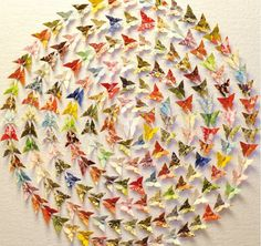 """Beautiful origami """"Short Stories By Will & Caro"""""""