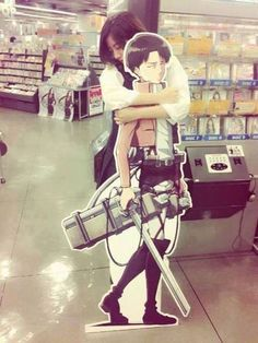 This is something I would do......except I would be shorter than him. ;_;