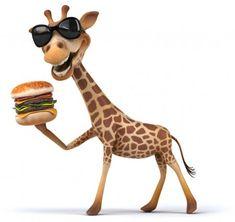 Cartoon Giraffe, Funny Giraffe, Cute Giraffe, Cartoon Art, Giraffe Painting, Giraffe Art, Big Hugs For You, Emoji Images, Art Cart