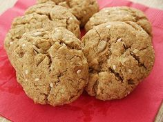 Little Corner of Mine: Healthy Olive Oil Cookies with Sunflower & Sesame Seeds