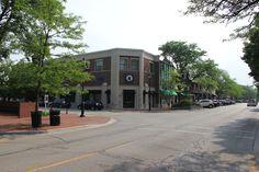Glencoe, Illinois Uptown Glencoe The New Chase Bank on Park Avenue in Glencoe July, 2014