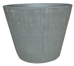 Zen Garden Countryside Terracotta Planter Size  15 x 12 Dia x H Color  Grey >>> Read more reviews of the product by visiting the link on the image.