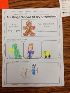 A Spoonful of Learning: Gingerbread Man! Fairy Tale Activities, Eyfs Activities, Nursery Activities, Craft Activities For Kids, Christmas Activities, Kindergarten Activities, Christmas Crafts, Gingerbread Man Story, Gingerbread Man Activities