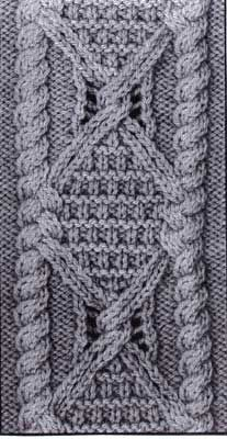Exquisite pattern stitch | Aran Lace book available for purchase | many wonderful stitches