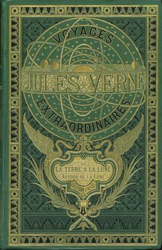 Jules Verne book cover.
