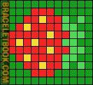 Alpha Friendship Bracelet Pattern #2521 - BraceletBook.com