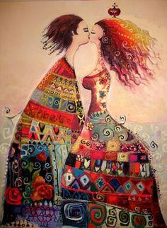 h a t t i s o u l: kissing glamour by Canan Berber