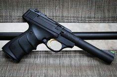 Browning Buckmark-.22 LR., so fun to shoot.