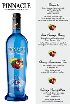 Four Cherry Berry Punch with Pinnacle Cherry Lemonade to be served at the Racy Red Revelry Valentines Party on the 14th.