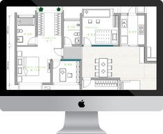 How to make a digital floorplan with sketchup built in furniture floor plan software for mac malvernweather Image collections