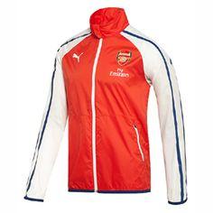 1e69fe64405 Puma Arsenal Anthem Soccer Training Jacket (High Risk Red)   SoccerEvolution