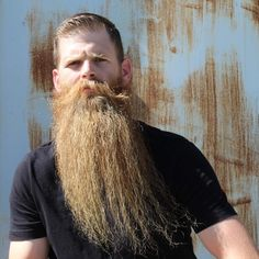 "thelastofthewine: ""*** Way awesome "" Great Beard Hairy Men, Bearded Men, Great Beards, Long Beards, Hair Tattoos, Epic Beard, Dreadlocks, Hipster Beards, Long Hair Styles"