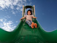 A Business Lesson From My 4-Year-Old – And Why You Shouldn't Go Head-First Down a Slide - Corinne Kerston