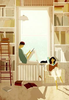 ⌨BOOK WARM by Pascal Campion⌨ #pascalcampion #paintings #artwork