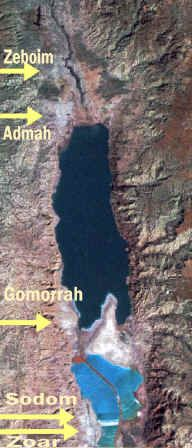Archeological evidence of Sodom and Gomorrah found at these sites. End Genesis 18 and beginning of 19 is where I am reading this morning. There are many photos of the brimstone and sulphur. There are photos of the round balls unlike any found elsewhere on the earth.
