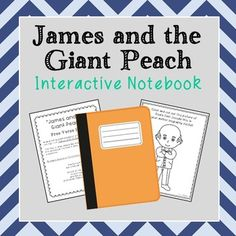 James and the Giant Peach Interactive Notebook. Includes vocabulary terms, poetry, author biography, and chapter summary activities. Say no to multiple choice tests for reading comprehension!