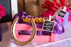 """""""Happy Trails"""" Snack Mix from a Cowgirl Birthday Party Roundup on Kara's Party Ideas   KarasPartyIdeas.com (23)"""