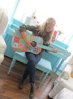 Mod Podge Guitar Tutorial!!! ...