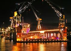 Special Event Location - Floating Dock in Hamburg
