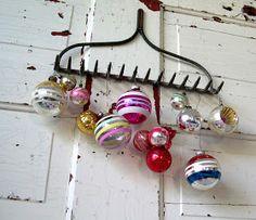 Fun vintage Christmas decoration