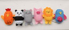 moldes de muñecos de tela animales - Buscar con Google