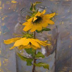 Carol Marine - Artist - Flowers in Jars Gallery