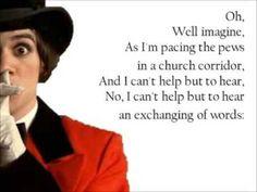 panic at the disco i write sins not tragedies lyrics - Google Search