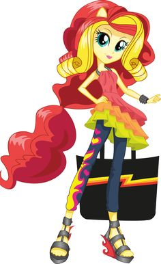 Sunset Shimmer | MLP: Equestria Girls Character Bio | Rainbow Rocks