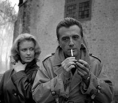 Beata Tyszkiewicz i Andrzej Łapicki - Naprawdę wczoraj (1963) Polish Films, Movie Stars, Che Guevara, Black And White, Face, People, Movies, Beauty, Women
